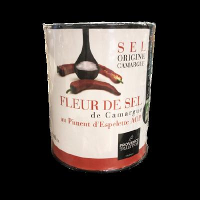 Fleur de sel Piment Espelette