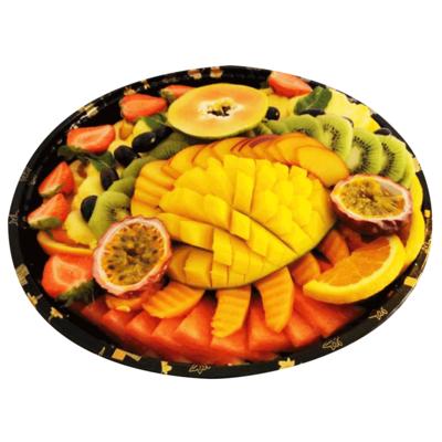 Plateau de fruits frais .