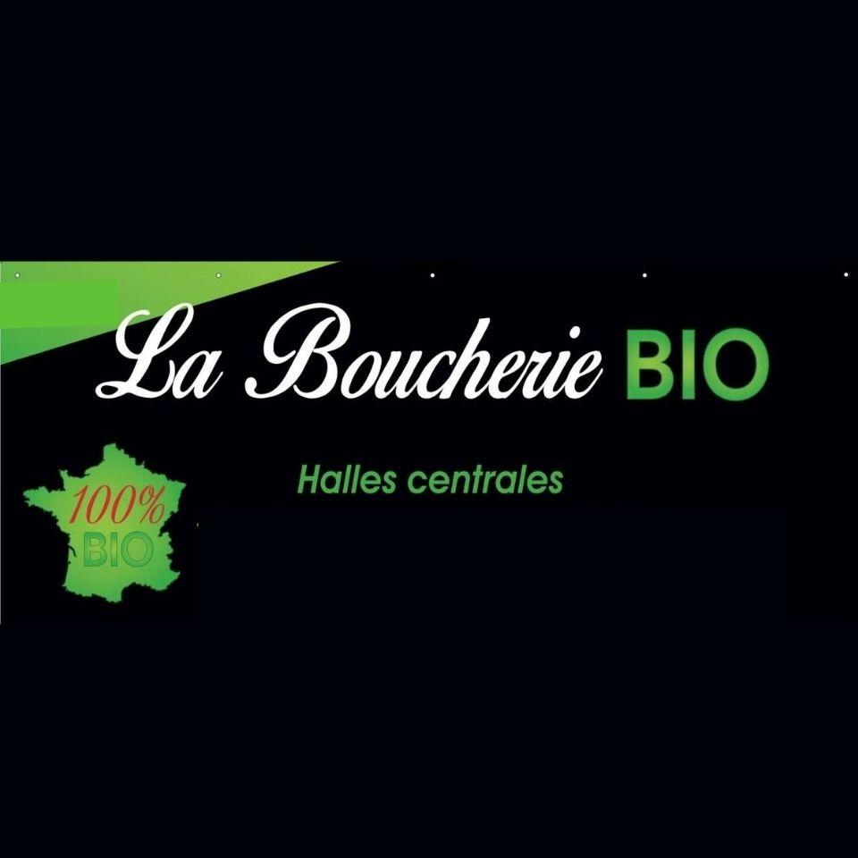 logo La Boucherie Bio des Halles