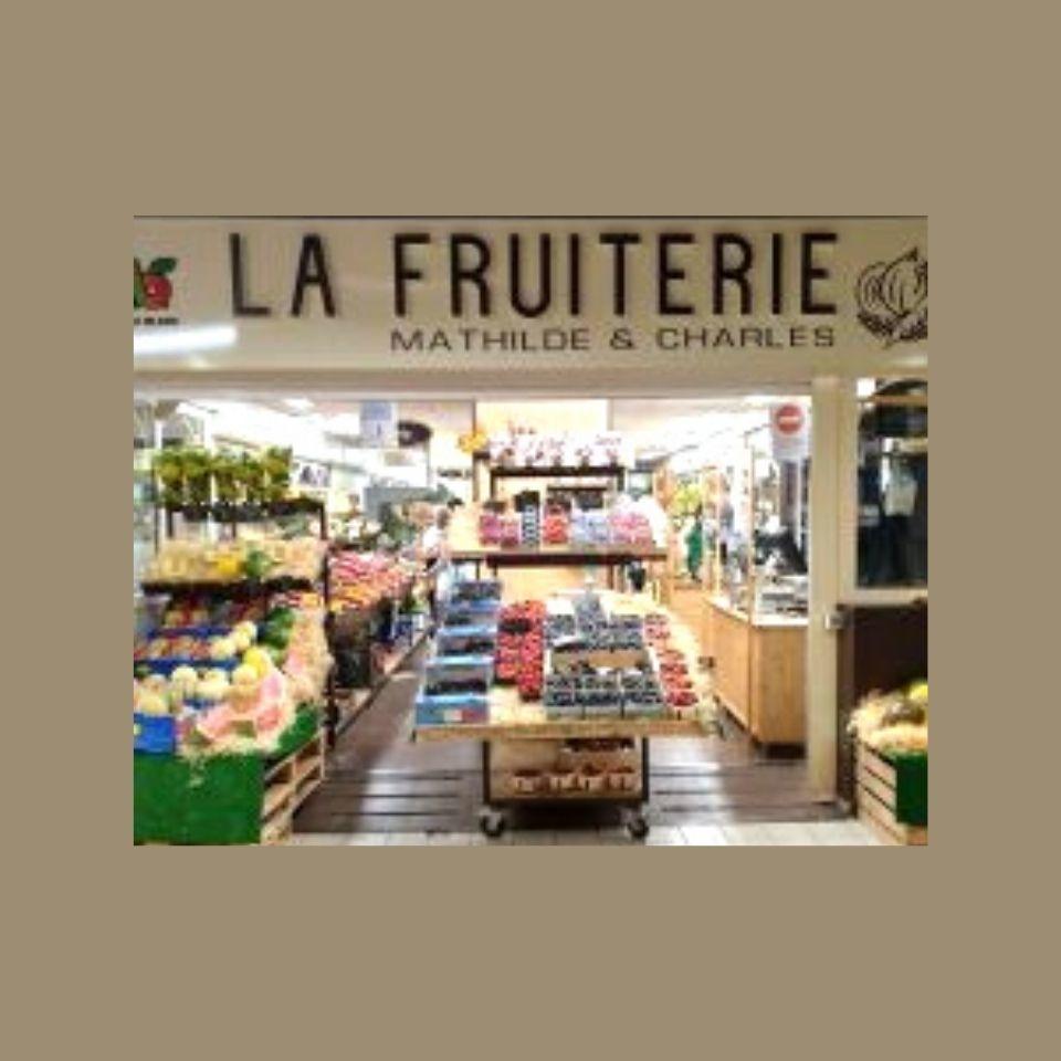 logo La Fruiterie Mathilde & Charles