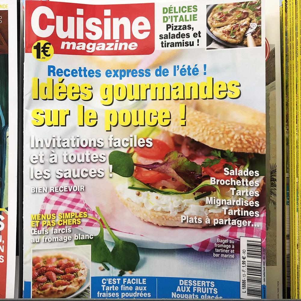 Magazines Cuisine - Vins